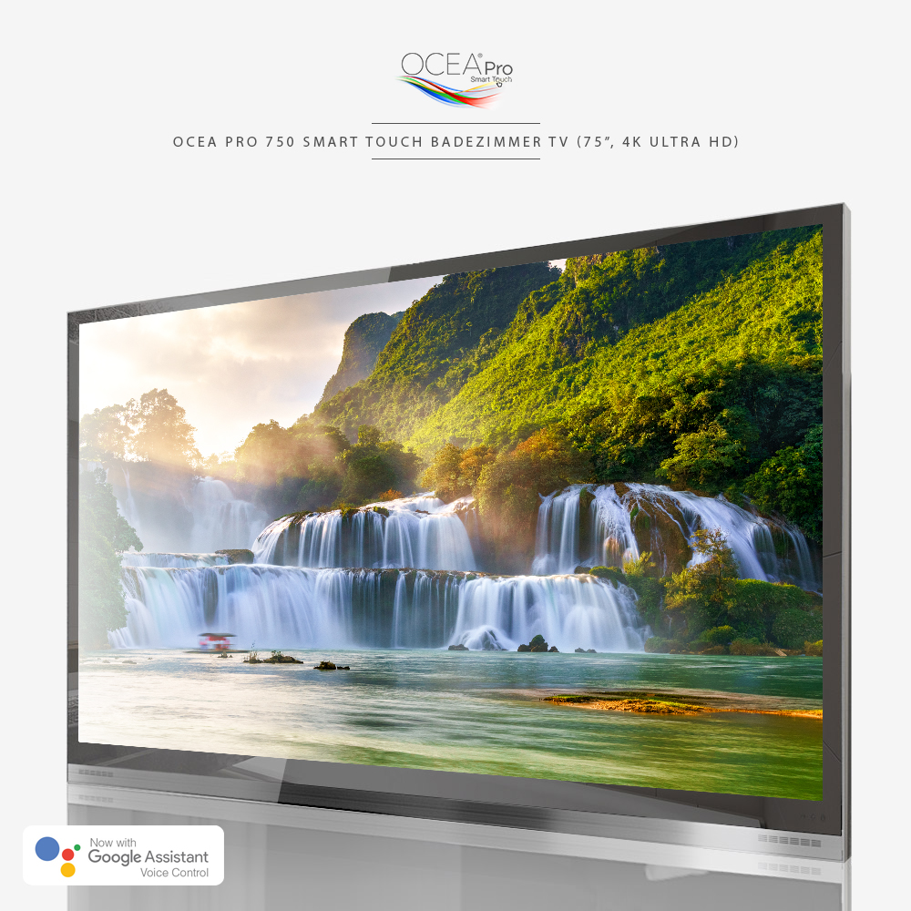 "Ocea Pro 750 Smart Touch Badezimmer TV (75"", 4K Ultra HD)"
